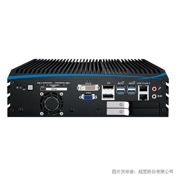 超恩ECX-1100 GTX1050多GPU芯片嵌入式系统