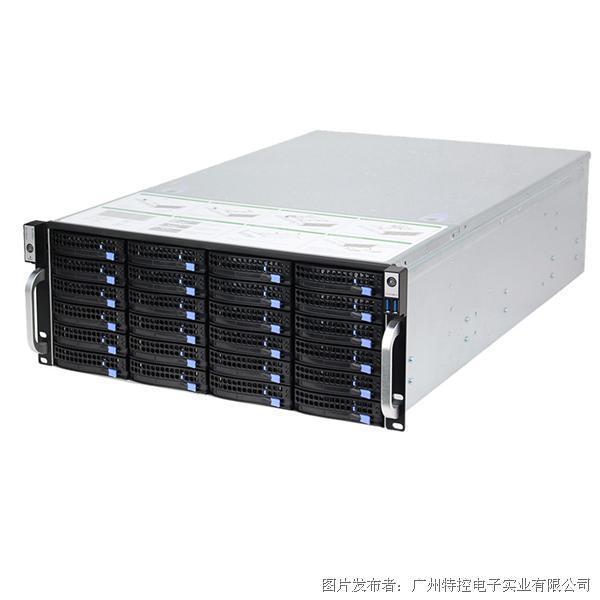 特控EIS-H4224S 4U机架式24盘位高密度存储服务器