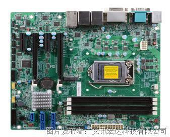 艾讯宏达SYM86456V4GA Q170四网口工业母板