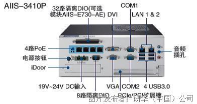 研华 机器视觉系统AIIS-3410P