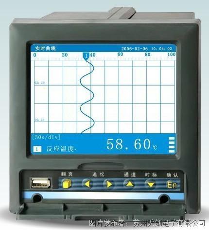 天劍電子TX5000系列無紙記錄儀