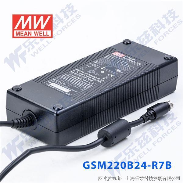 台湾明纬GSM220B医疗级电源适配器(220W左右)两插进线