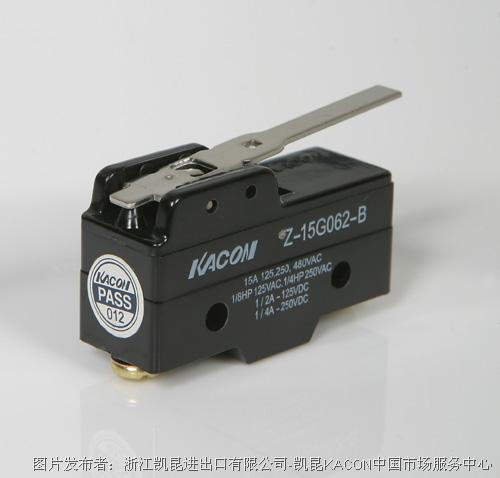 凯昆KACON Z15G-062B微动开关