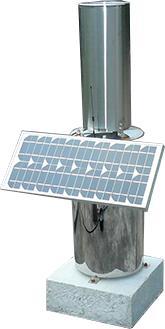 电池供电无线雨量计
