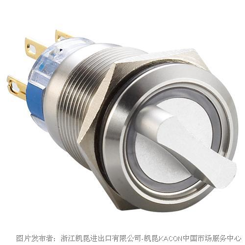 凯昆KACON T19-512P防水金属按钮