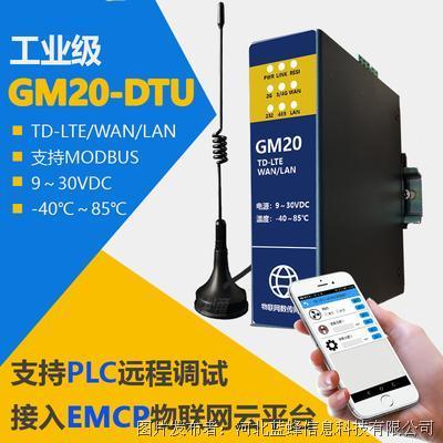 藍蜂信息GM20-DTU智能網口/4G網關