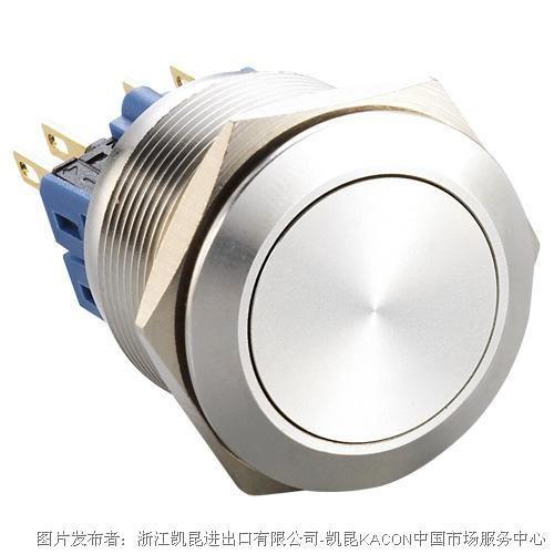 凯昆KACON T22-211P防水金属按钮