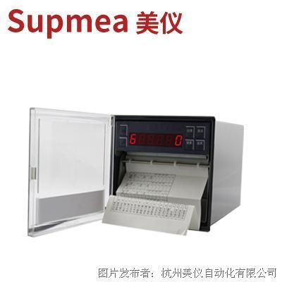 杭州美仪SUP1000有纸温度记录仪