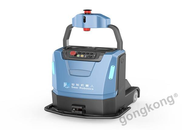 仙知机器人 基于SRC的激光SLAM牵引式自动叉车