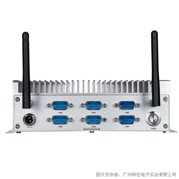 特控 MEC-T1962 J1900�o�L扇嵌入式工控�CBOX PC