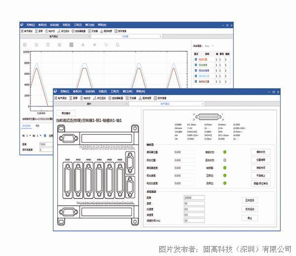 MotionStudio运动控制器调试软件