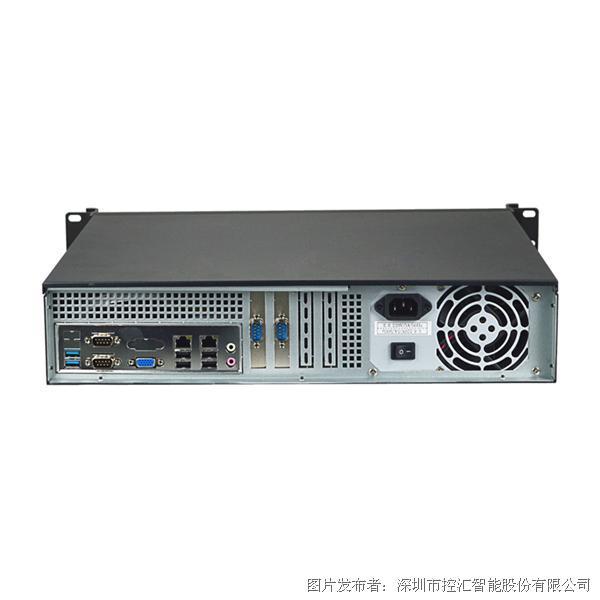 控汇 eip IPC-208B工控机 i3i5i7工业电脑