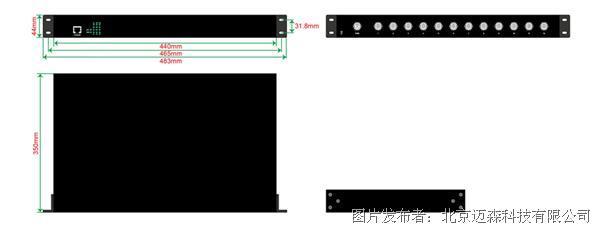 迈森 MS28MC-4SSC-4GP 网管型机架式工业级以太网交换机,