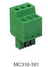 进联MC310 可插式 PCB 连接器,插头