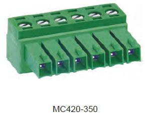 进联MC420 可插式 PCB 连接器,插头
