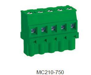 进联MC210 可插式 PCB 连接器 ,插头