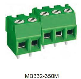 进联MB332 PCB 一体式/组合式端子连接器