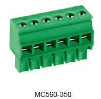 进联MC560可插式 PCB 连接器,插头