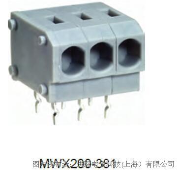 进联MWX200 PCB 弹片型端子连接器