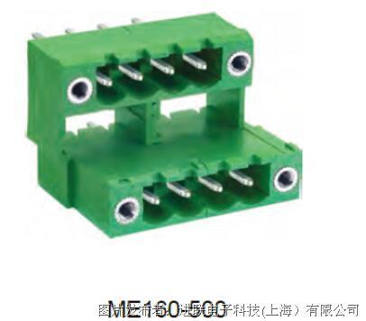進聯ME160 外螺紋連接器,雙層插頭帶法蘭