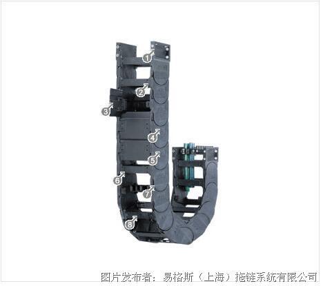 易格斯14550系列拖链