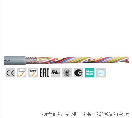 易格斯 chainflex® CF240.PUR 高柔性数据电缆