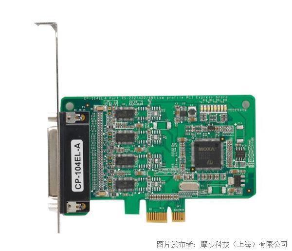摩莎CP-104EL-A 系列PCI Express串口卡