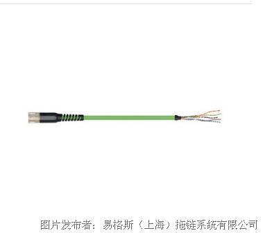 易格斯readycable®反馈电缆CFBM7DF-CDAFxx-PUR 7.5 x d
