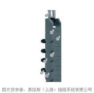 易格 094系列拖鏈,可在內側打開