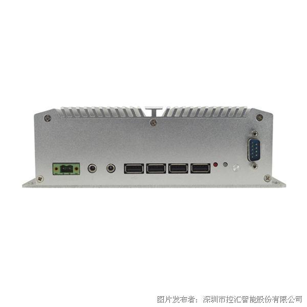 控汇智能MFC-2000工控机 J1900四核无风扇嵌入式主机