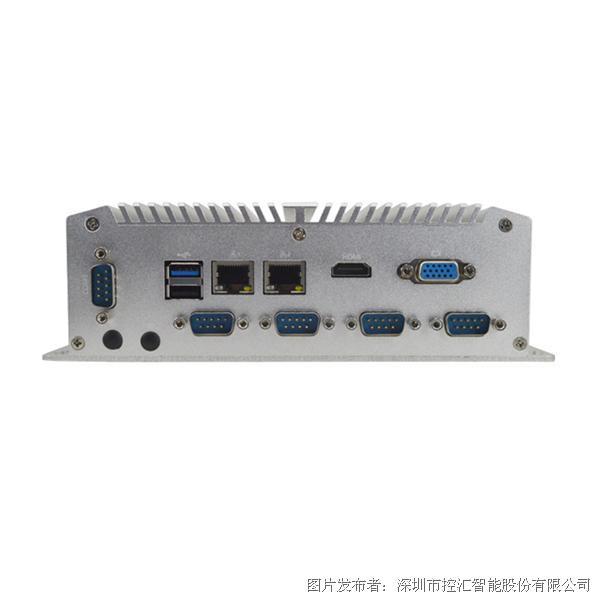 控汇平安棋牌官网MFC-2000工控机 J1900四核无风扇嵌入式主机