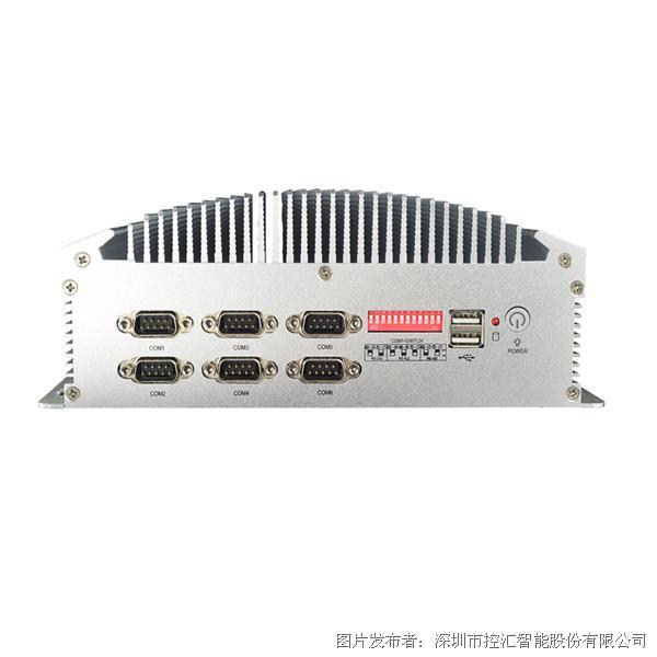 MFC-5210无风扇嵌入式工控机 6串口双网 J1900四核