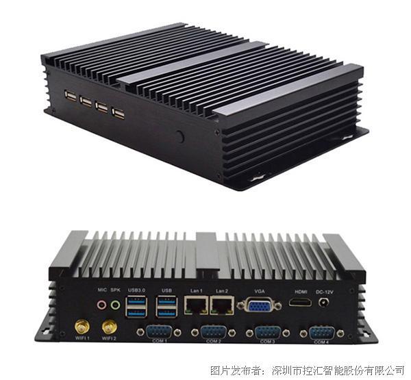 控匯(eip)1037U低功耗無風扇防塵耐高溫工控機