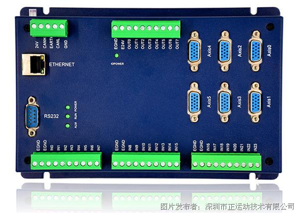 正运动ECI2000网络运动控制卡