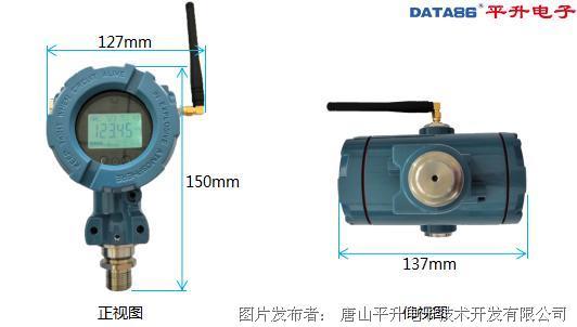 唐山平升 无线数字压力表/无线压力变送器