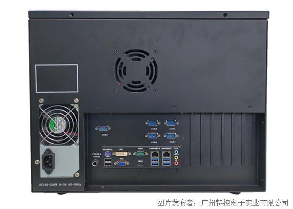 特控 17.3寸电容触摸IP网络广播服务器主机