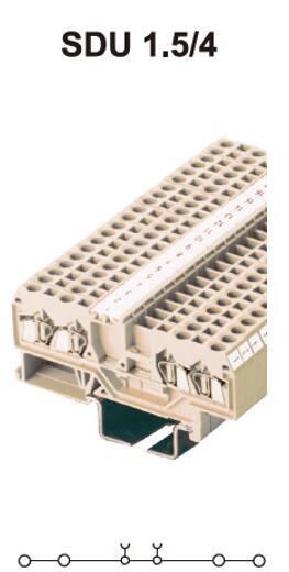 进联SDU2.5接线端子