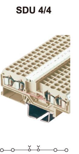 进联SDU4/3接线端子