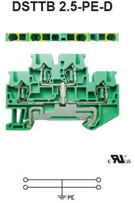 进联 DSTTB 2.5-PE-D接线端子