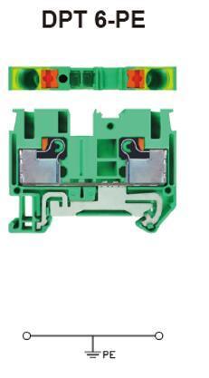 进联DPT 4/3-PE接线座