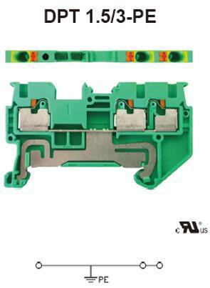 进联DPT 1.5/3-PE接线座