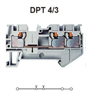 进联DPT 4/3接线端子