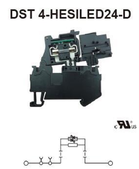 进联DST 4-HESILED24-D接线座