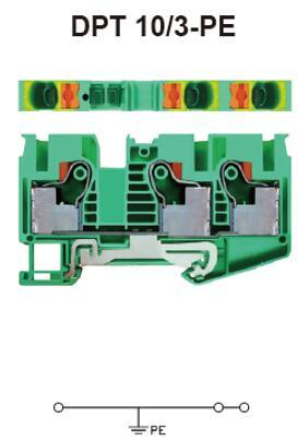 进联DPT 10/3-PE接线座