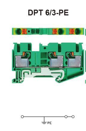 进联DPT 6/3-PE接线座