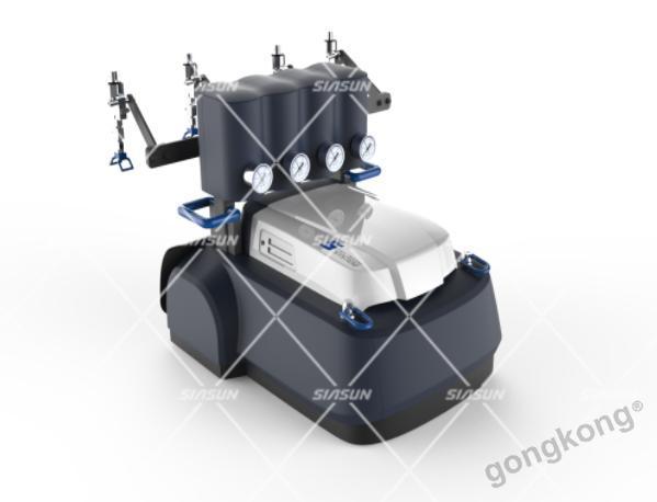 中科新松智能喷涂爬壁机器人