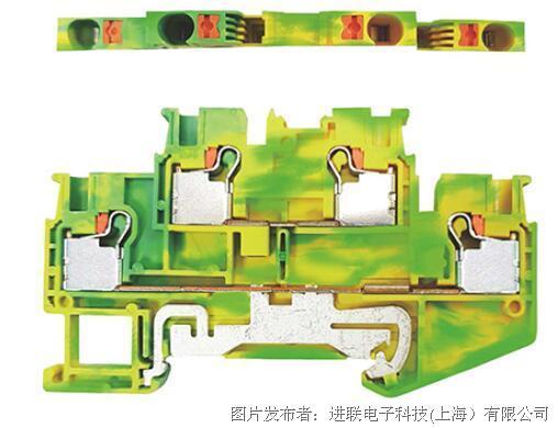 进联推入式弹片压接型接线座DPTTB 2.5-PE