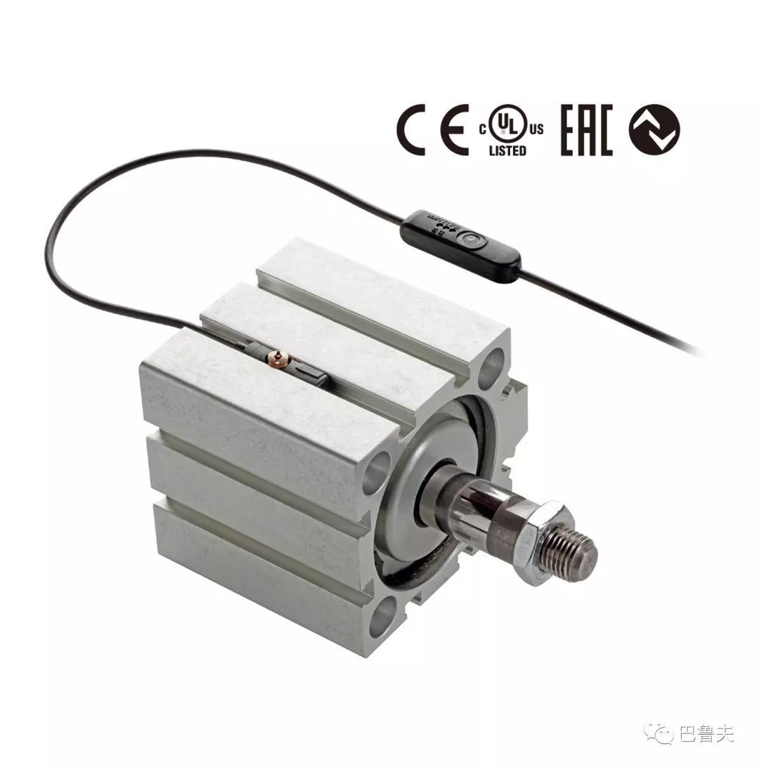 巴鲁夫带多个开关点的T形槽磁敏传感器