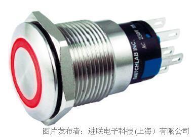 進聯F24S1嵌入式照明照明防破壞開關環