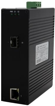 讯记科技CK1211系列2口千兆非网管型工业以太网交换机